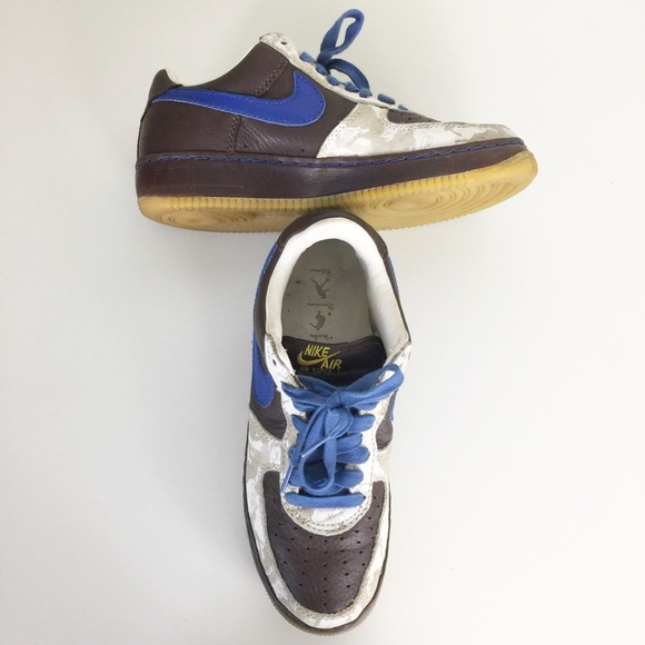 Nike Other - Nike AF1 Mens 2005 Inside Out Low Sneakers 9.5